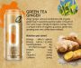 Organic Ginger Green Tea Energy Drink
