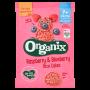 Organic Baby Rice Cakes - Raspberry & Blueberry