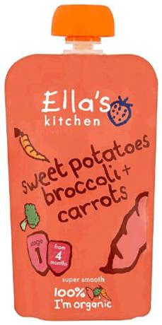 Organic Sweet Potato, Broccoli & Carrots
