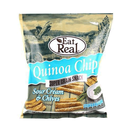 Sour Cream & Chives Quinoa Chips - small