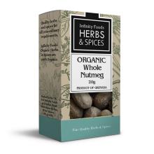 Organic Whole Nutmeg