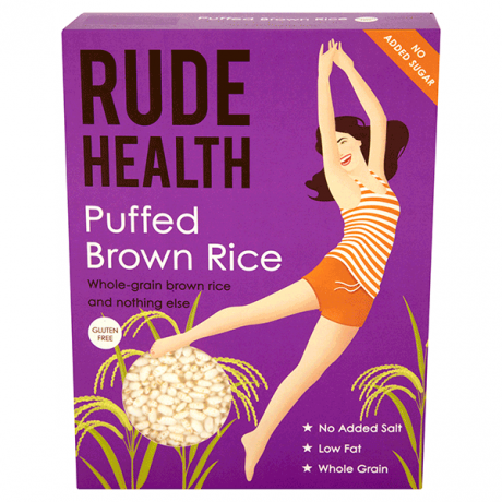 Puffed Brown Rice - gluten-free