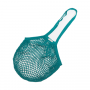 Organic Granny String Bag Long Handle - Teal