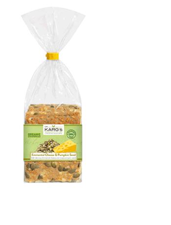 Organic Emmental Cheese & Pumpkin Crispbread