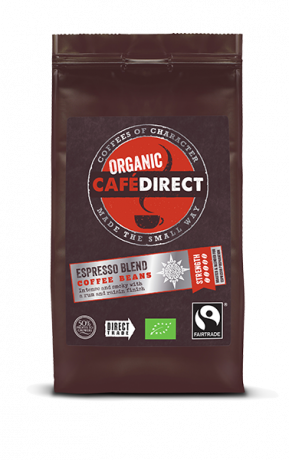 Organic Whole Coffee Beans - Espresso Blend - 5