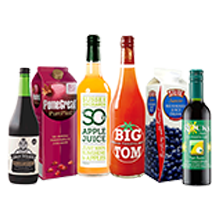 Drinks - Fruit and Vegetable Juices, Cordials & Water