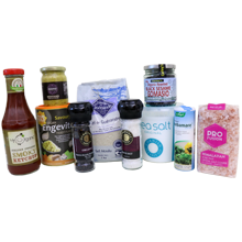 Condiments, Stocks, Salt & Misc Foods