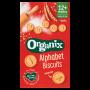 Organic Alphabet Biscuits