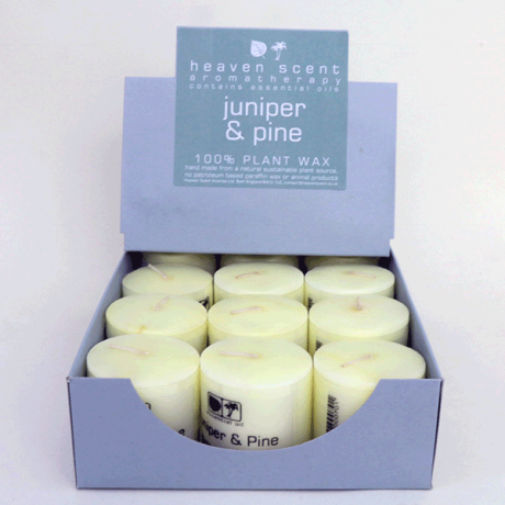 Juniper & Pine Essential Oil Candles