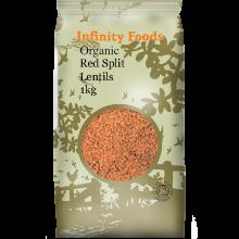 Organic Red Split Lentils
