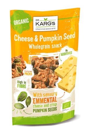 Organic Emmental Cheese & Pumpkin Wholegrain Snack