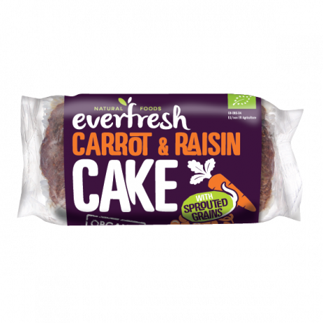 Organic Carrot Cake with Raisins