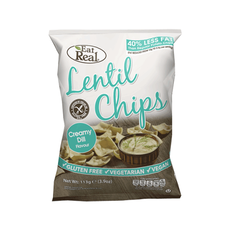 Creamy Dill Lentil Chips - large
