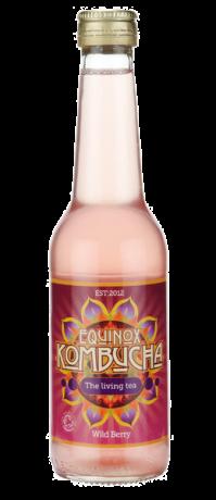 Organic Wild Berry Kombucha