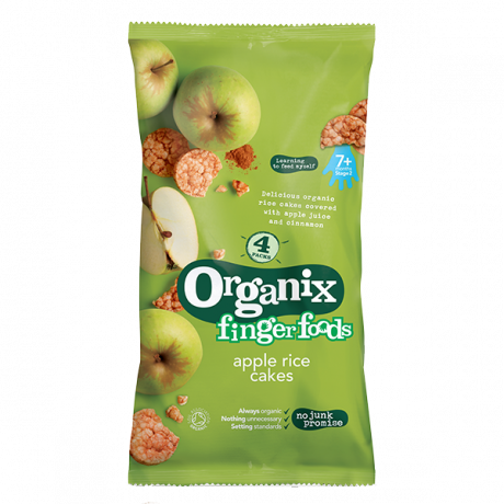 Organic Apple Rice Cakes multi pack