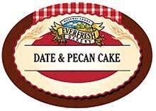Organic Date & Pecan Cake
