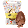 Organic Button Milk Chocolate Easter Egg