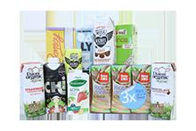 Drinks - Soya, Nut and Grain Drinks, Milk & Desserts