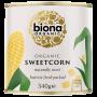 Organic Sweetcorn - canned