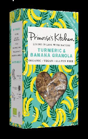 Organic Turmeric & Banana Granola - New!