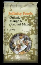 Organic Mango & Coconut Muesli