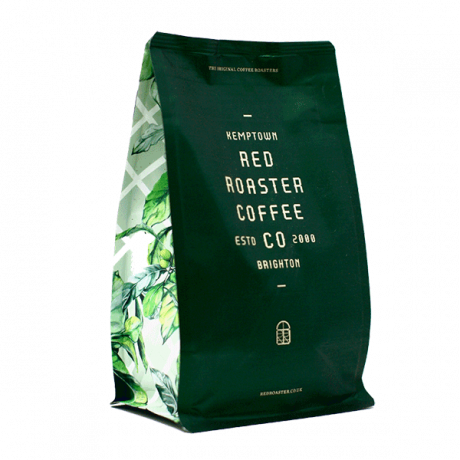Organic Decaffeinated - ziplock cafetière ground