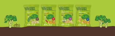Growers Garden vegan broccoli crisps