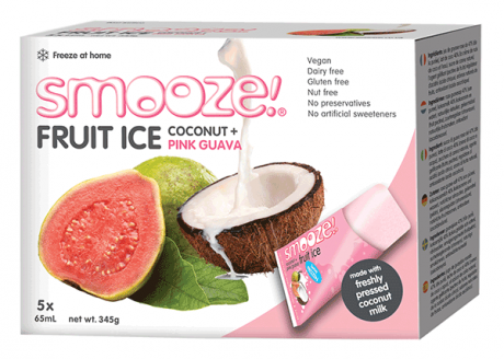 Pink Guava Coconut Ice