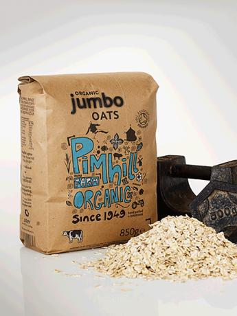 Organic Jumbo Oats - bags