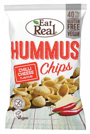 Chilli & Cheese Hummus Chips - large