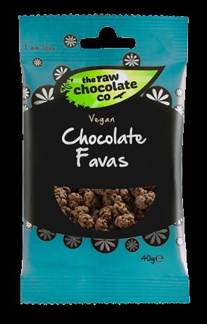 Raw Chocolate Fava Beans