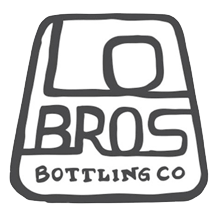 Lo Bros Organic Vegan Kombucha glass