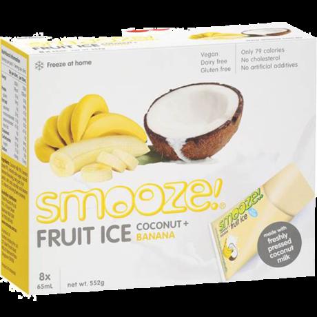Banana & Coconut Ice