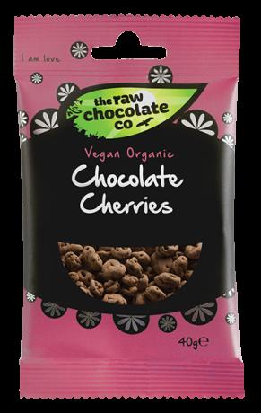 Organic Raw Chocolate Cherries