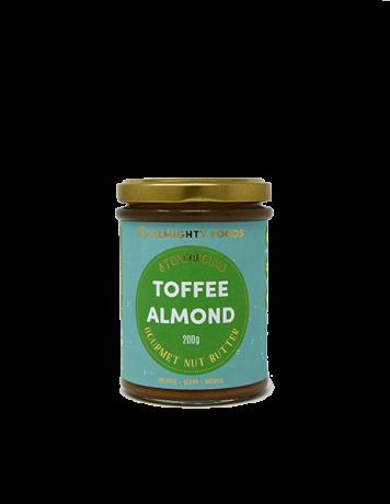 Organic Toffee Almond