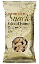 Seasalt & Black Pepper Cashews