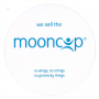Mooncup Window Sticker - free of charge - please quote code: