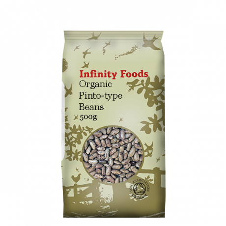 Organic Pinto Beans (light speckled kidney)