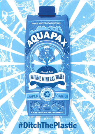 Aquapax point of sale A6 leaflet free of charge - please quo
