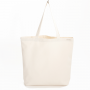 Organic Canvas shopping Bag - Natural White