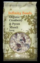 Organic Cranberry & Pecan Muesli