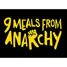 9 Meals From Anarchy  glass jar