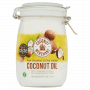 Organic Coconut Oil - raw E.V - glass latched jar