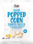 Organic Hand Popped Corn - Slightly Salted - New Size!