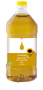 Organic Sunflower Oil - clear plastic