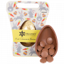 Organic Button Milk Chocolate Easter Egg