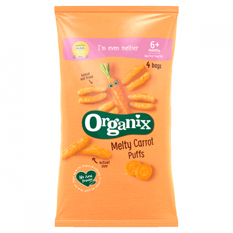 Organic Crunchy Sticks - Carrot
