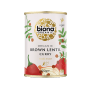 Organic Brown Lentil Curry - BPA-free can
