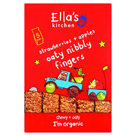 Organic Nibbly Fingers  Strawberry Apple
